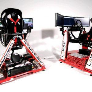 Mozgó autós versenyszimulátor